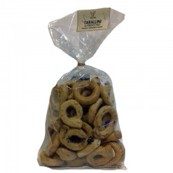 Taralli with wild fennel seed